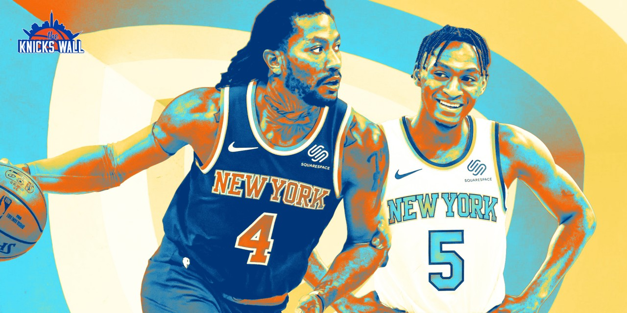 Should the Knicks Retain Derrick Rose or Trust Immanuel Quickley With a Larger Role?