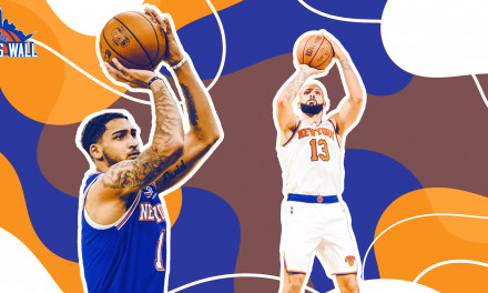 Knicks' Improved Three-Ball Comes With Greater Expectations