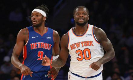 Julius Randle, Vintage Taj Gibson, Knicks Pull Out Preseason Win Over Pistons