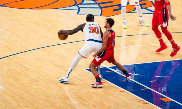 Randle Game-Winner Leads Knicks Past Wizards in Unbeaten Preseason Finish
