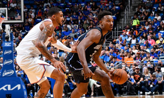 Knicks Set Three-Point Record, Cruise to Blowout Win in Orlando