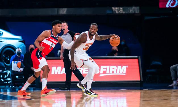 Knicks Continue Preseason Play Against Wizards, Minus Randle