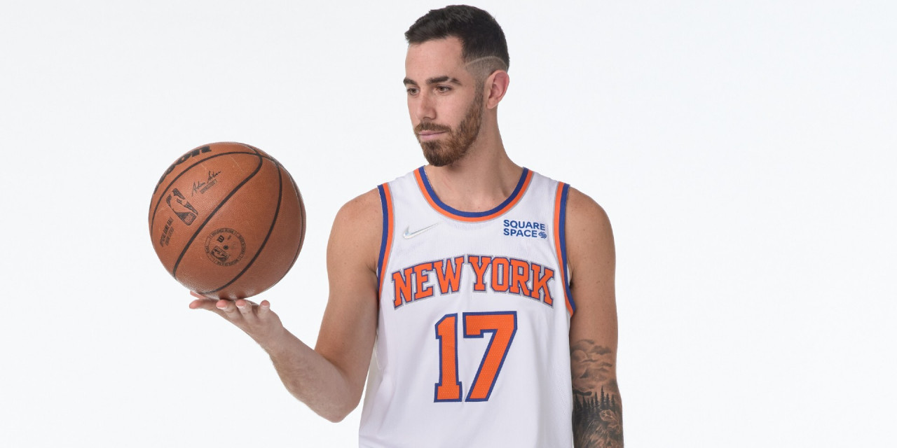 Knicks Waive Luca Vildoza During Training Camp
