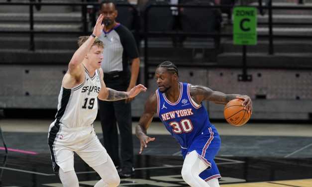 Report: Knicks Signing Ex-Spurs First-Rounder Luka Samanic to Two-Way Deal